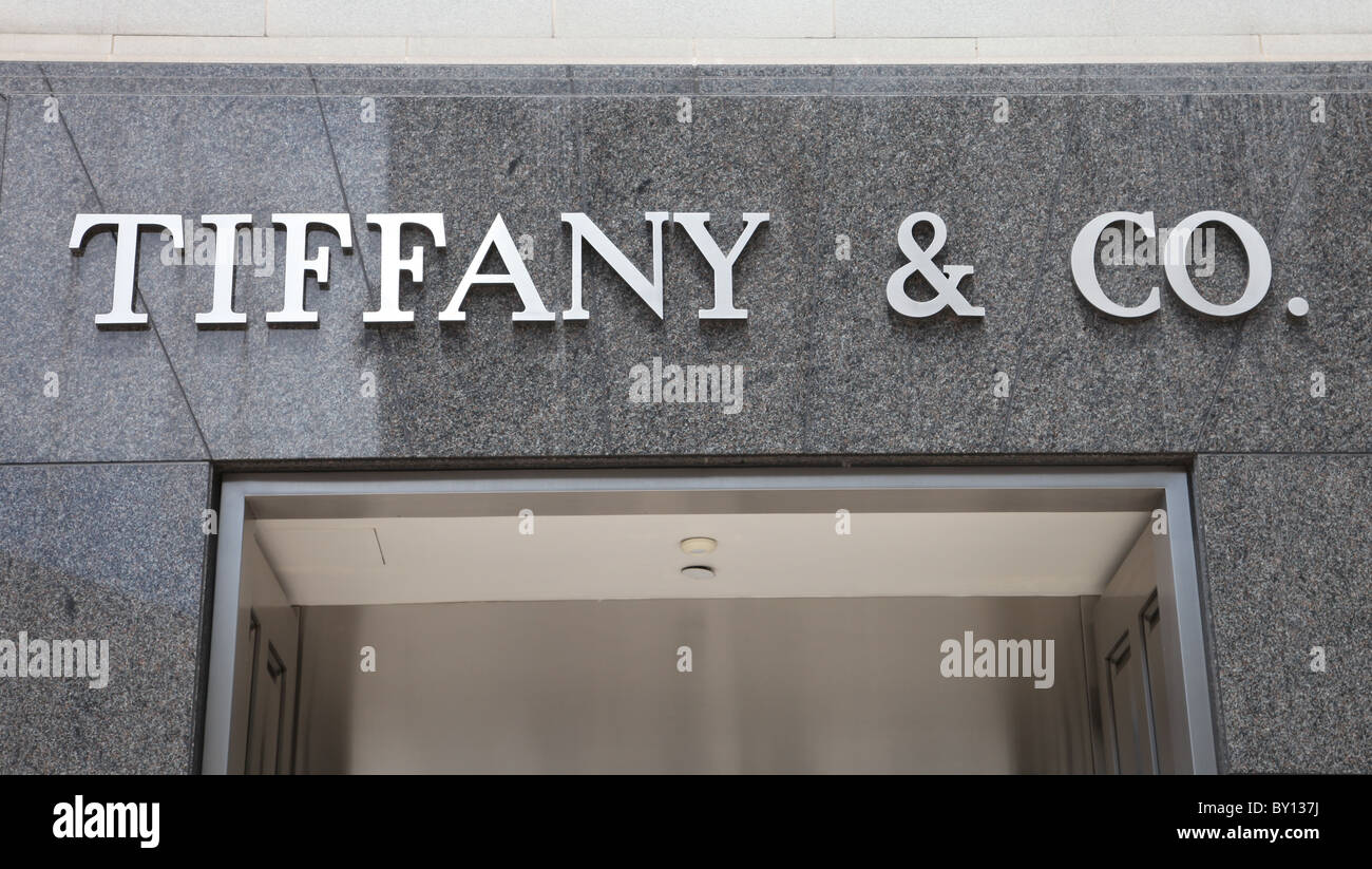 TIFFANY CO. BEVERLY HILLS STORE 210 N. RODEO DRIVE BEVERLY HILLS CALIFONIA USA BEVERLY HILLS STORE 01 August 2010 - Stock Image