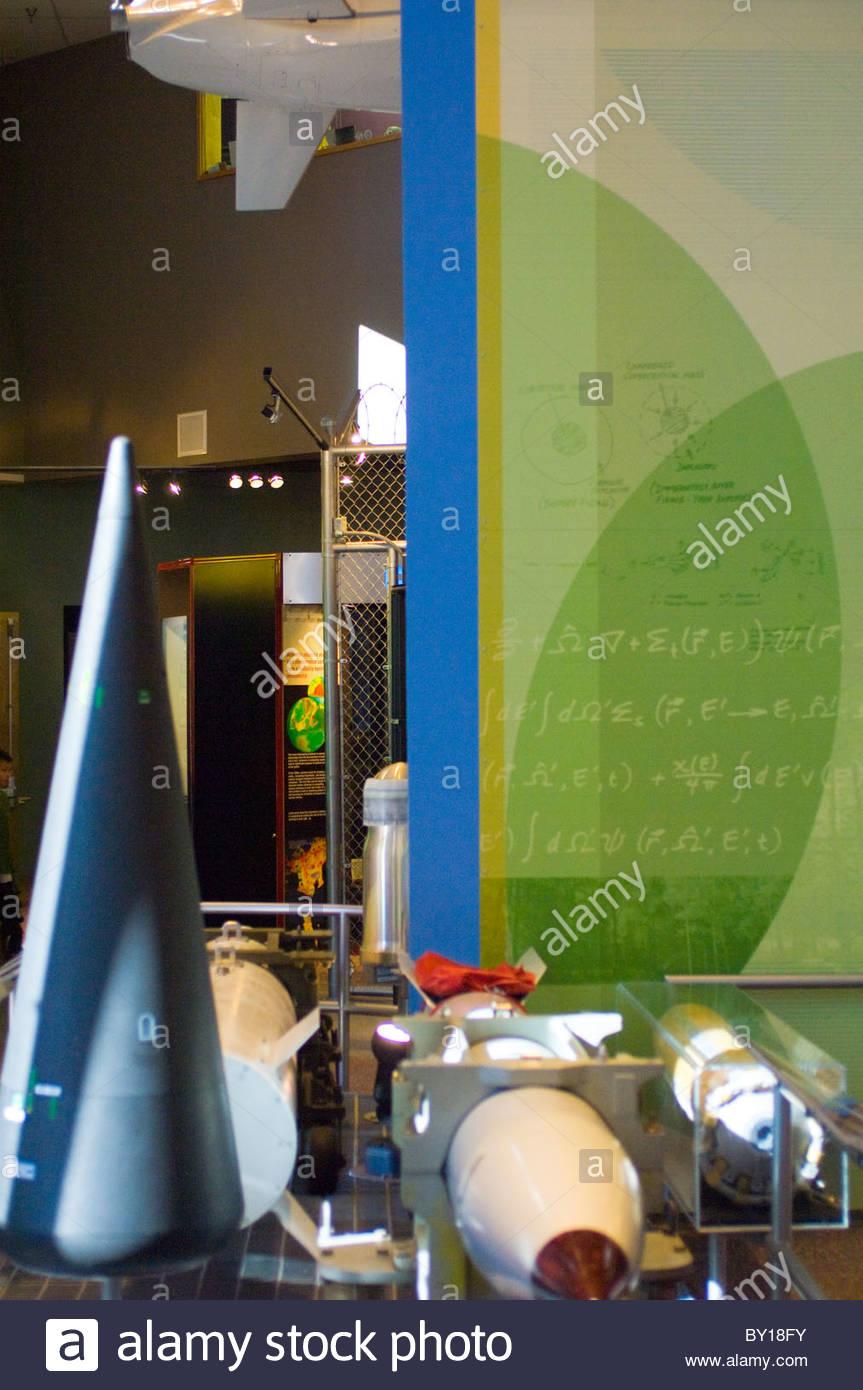 Bradbury Science Museum Los Alamos, New Mexico - Stock Image
