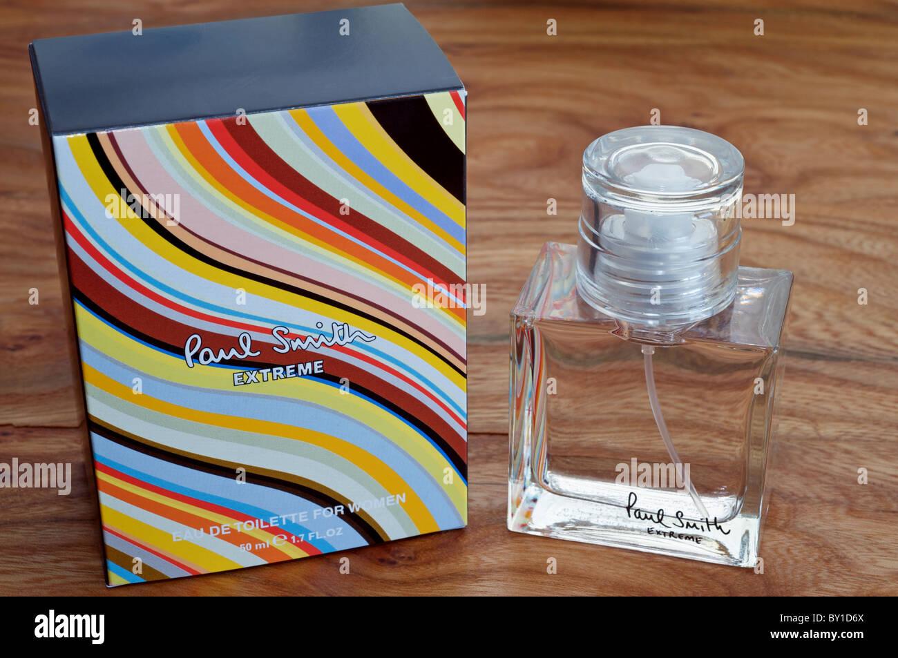 Paul Smith Extreme ladies perfume Stock Photo