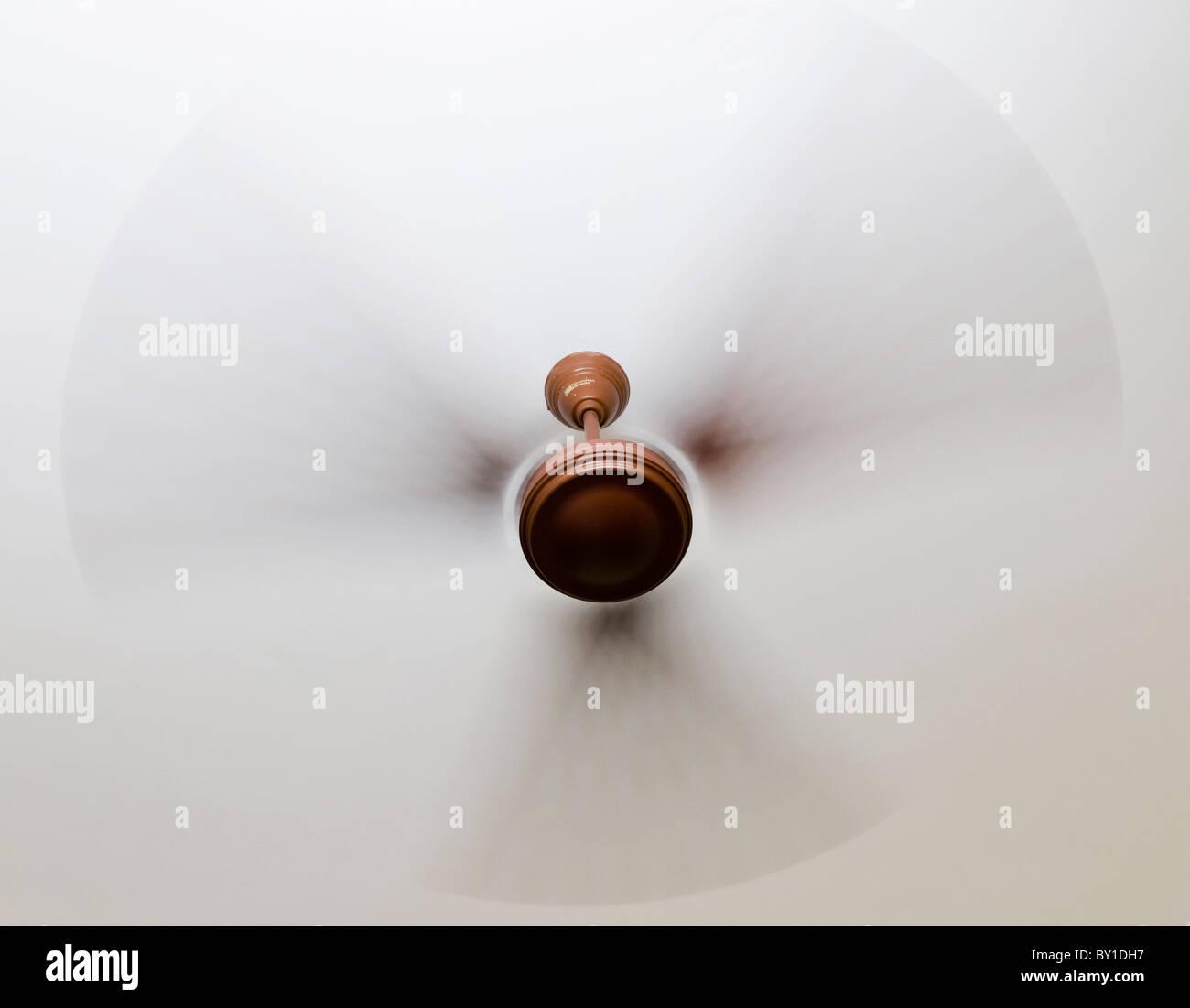Ceiling fan - Stock Image