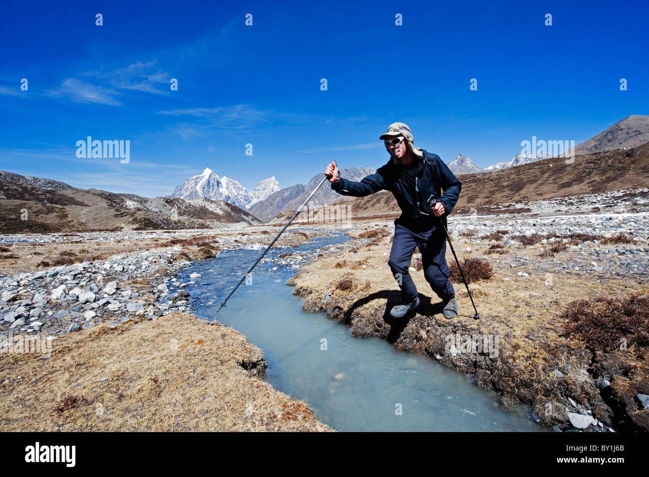 Asia, Nepal, Himalayas, Sagarmatha National Park, Solu Khumbu Everest Region, Unesco World Heritage, Chukhung Valley, - Stock Image