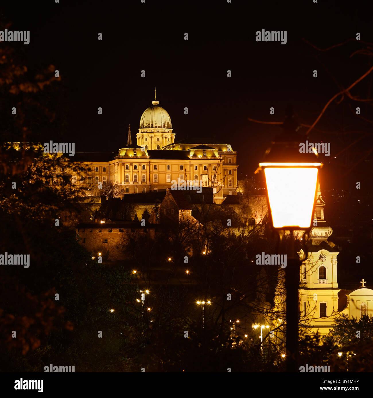 Buda Castle - Stock Image
