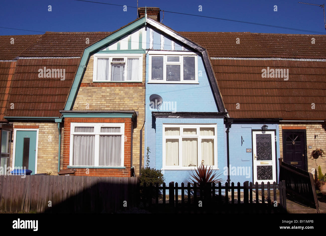 Council housing East London - Stock Image