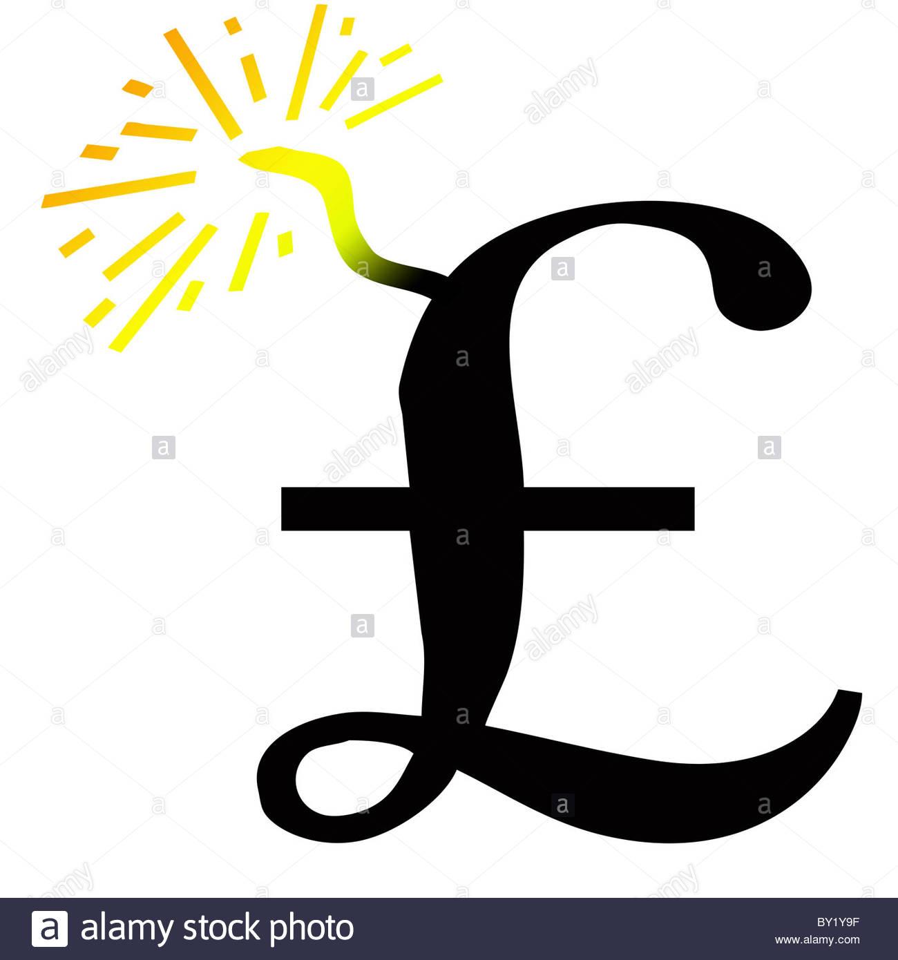Pound Symbol Cut Stock Photos Pound Symbol Cut Stock Images Alamy
