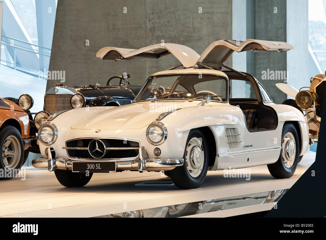 Mercedes Stock Photos Images Alamy Benz 230ce Fuel Filter Germanystuttgart Museum Merecedes 300 Sl Series