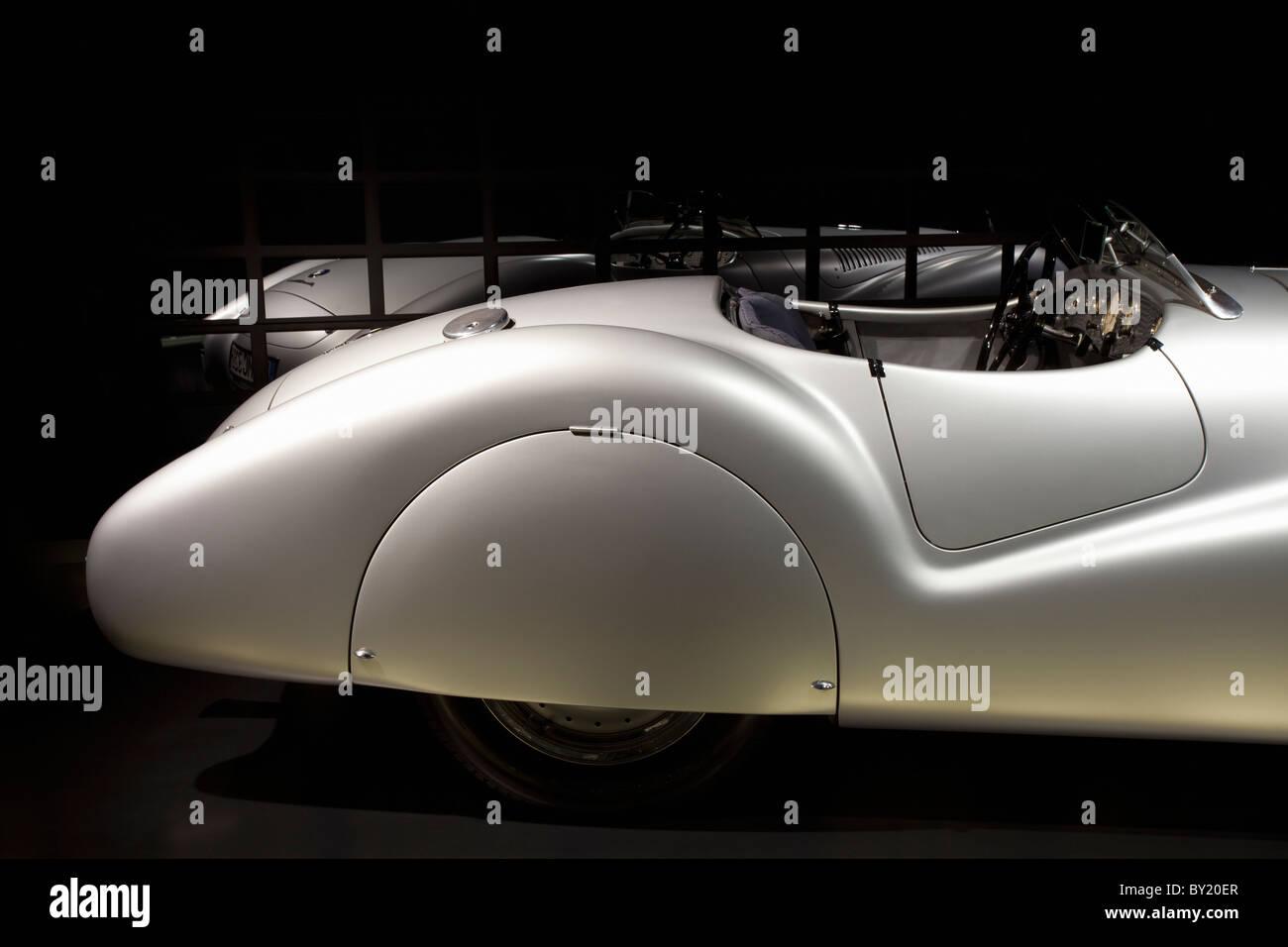 Germany,Munich,BMW Museum,BMW 328 Mille Miglia Roadster - Stock Image