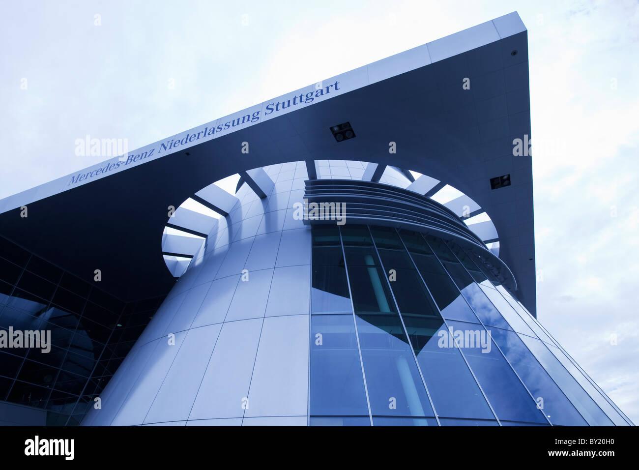 Germany,,Stuttgart, Mercedes-Benz Museum - Stock Image