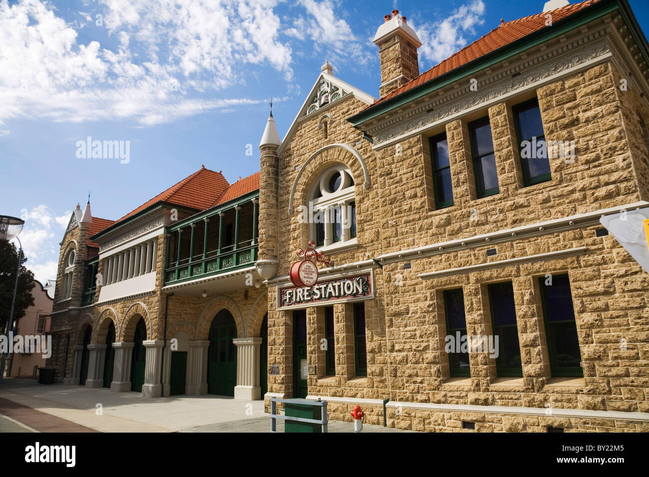 Australia, Western Australia, Perth.  Fire Safety and Education Museum in the old Perth Fire Station. - Stock Image