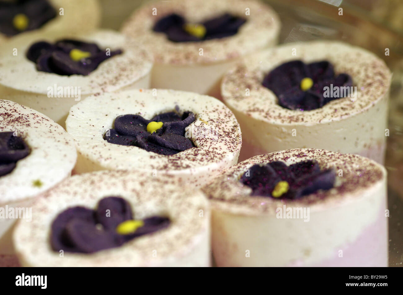 Close up of bath cakes - Stock Image