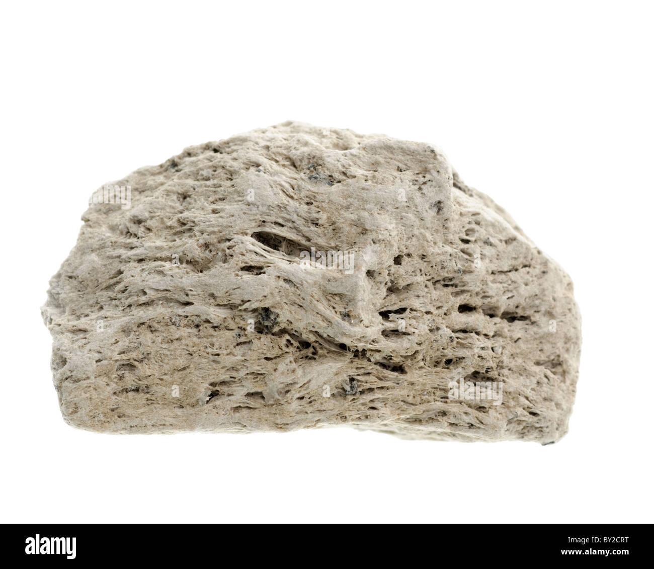 Pumice. Igneous rock sample - Stock Image