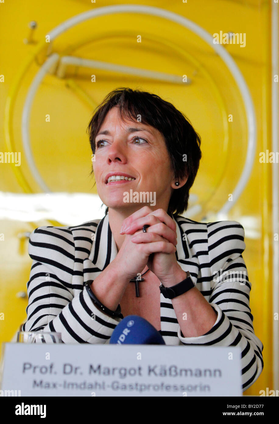 Prof. Dr. Margot Kaessmann Käßmann Ruhr University - Stock Image