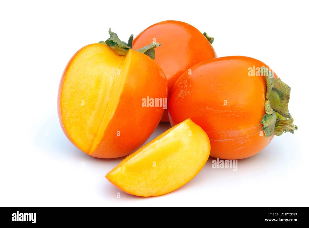 Kaki - Japanese Persimmon 15 - Stock Image