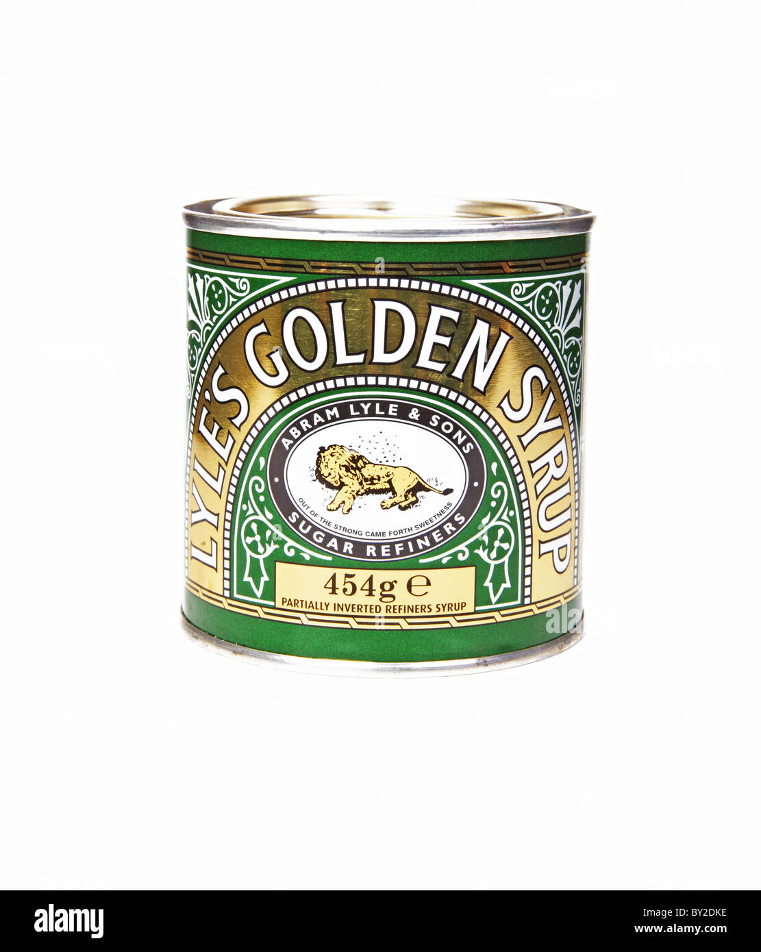 Tin of Lyle's Golden Syrup - Stock Image