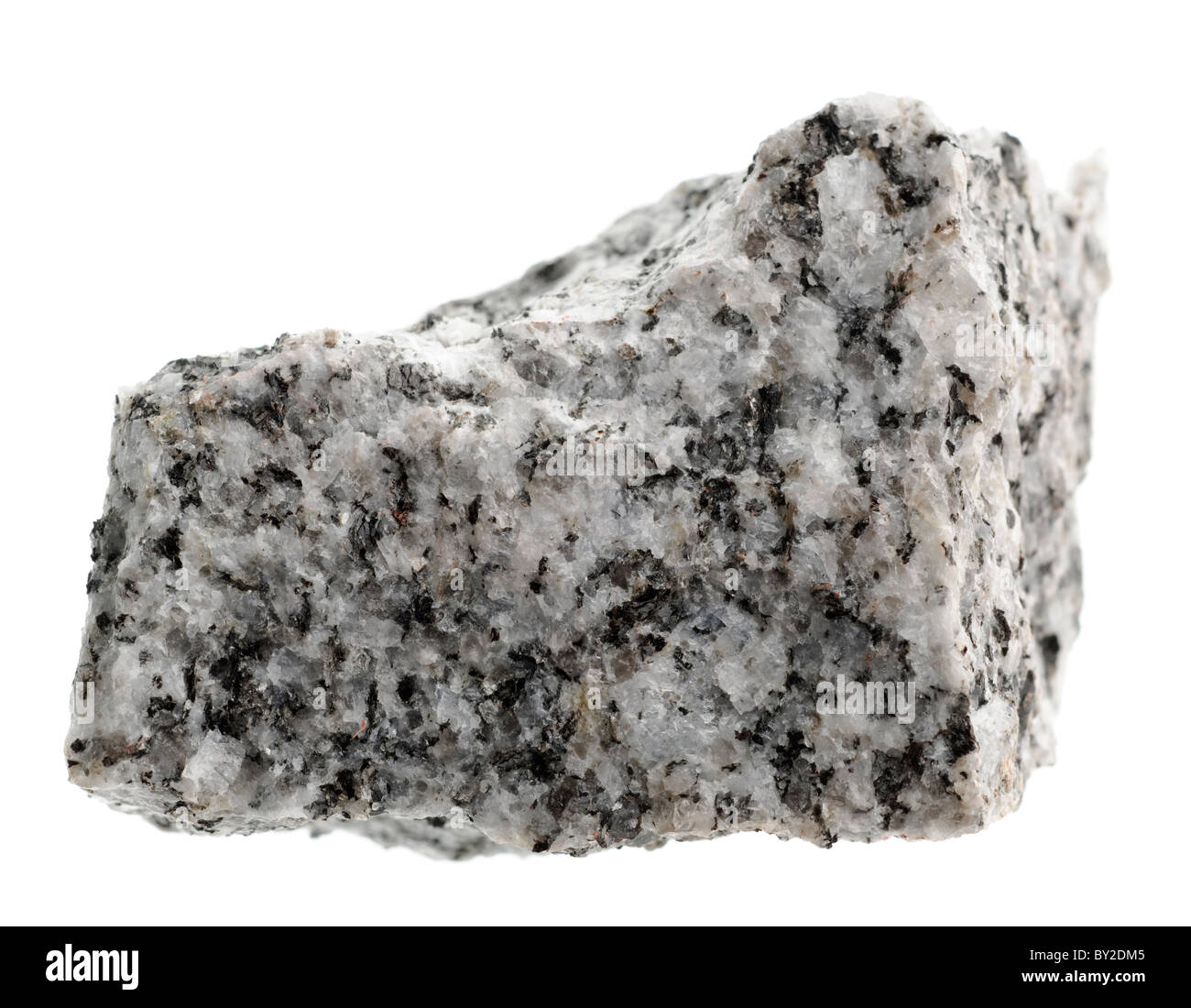 Granite Igneous Rock : Cornish granite igneous rock sample stock photo