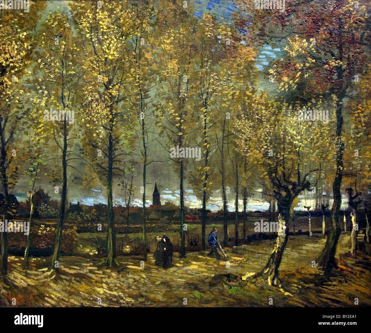 Vincent van Gogh Vincent van Gogh 1853– 1890 Dutch Netherlands Polars near Nuenen  1885 - Stock Image