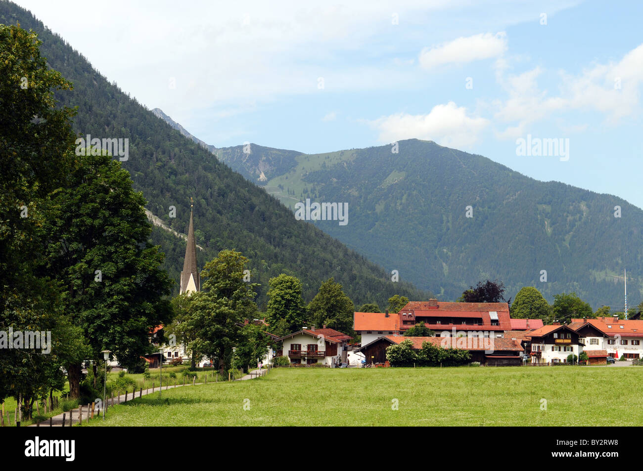 Bayrischzell in Bavaria - Stock Image