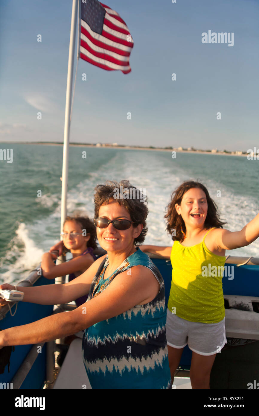 Dolphin excursion in Clearwater, FL - Stock Image