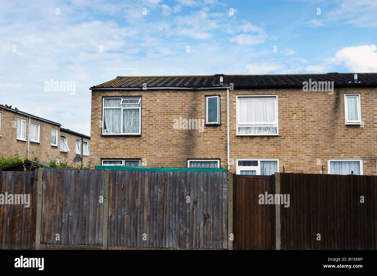Council estate London. - Stock Image