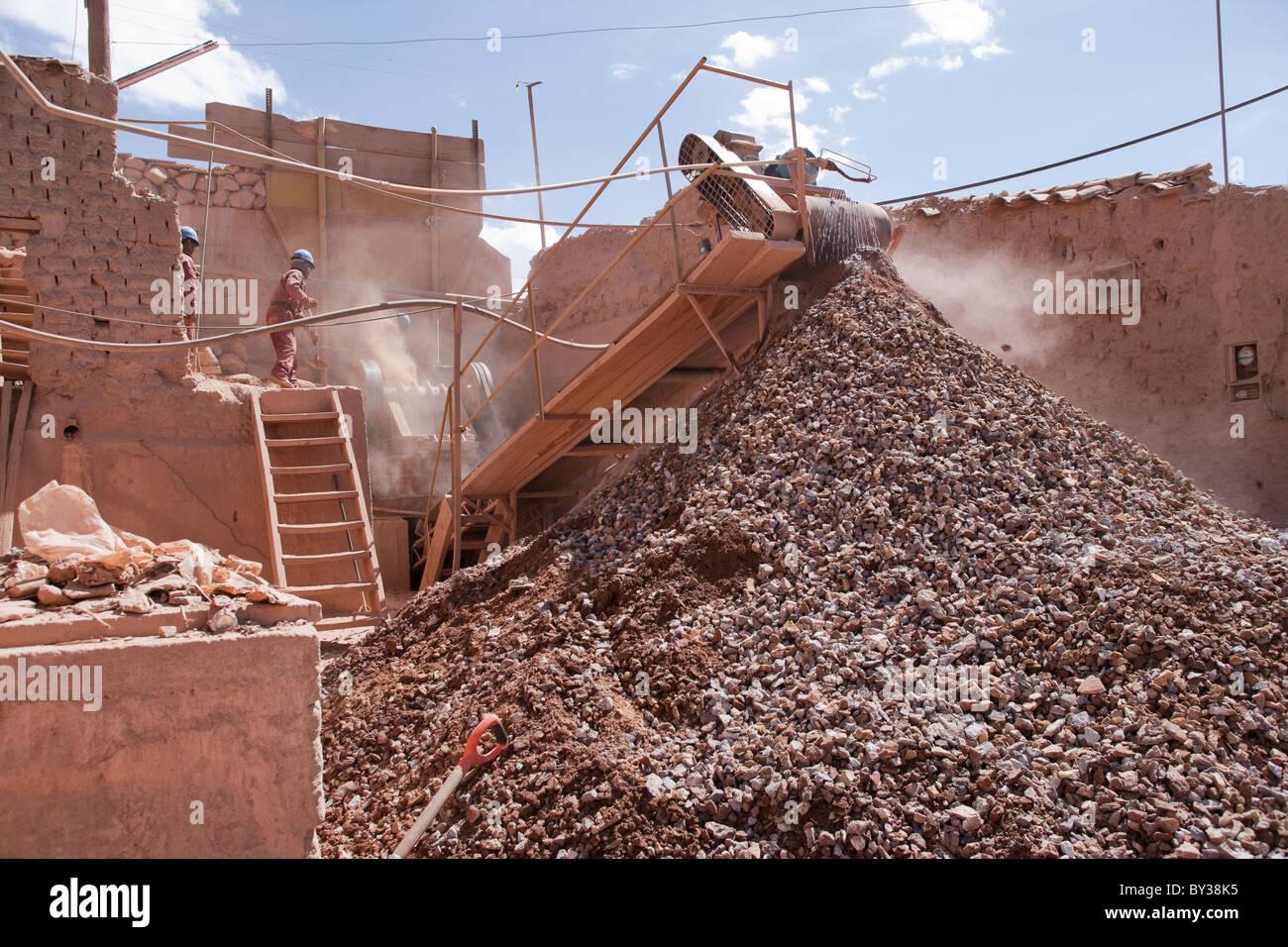 Potosí mine, Bolivia - Stock Image