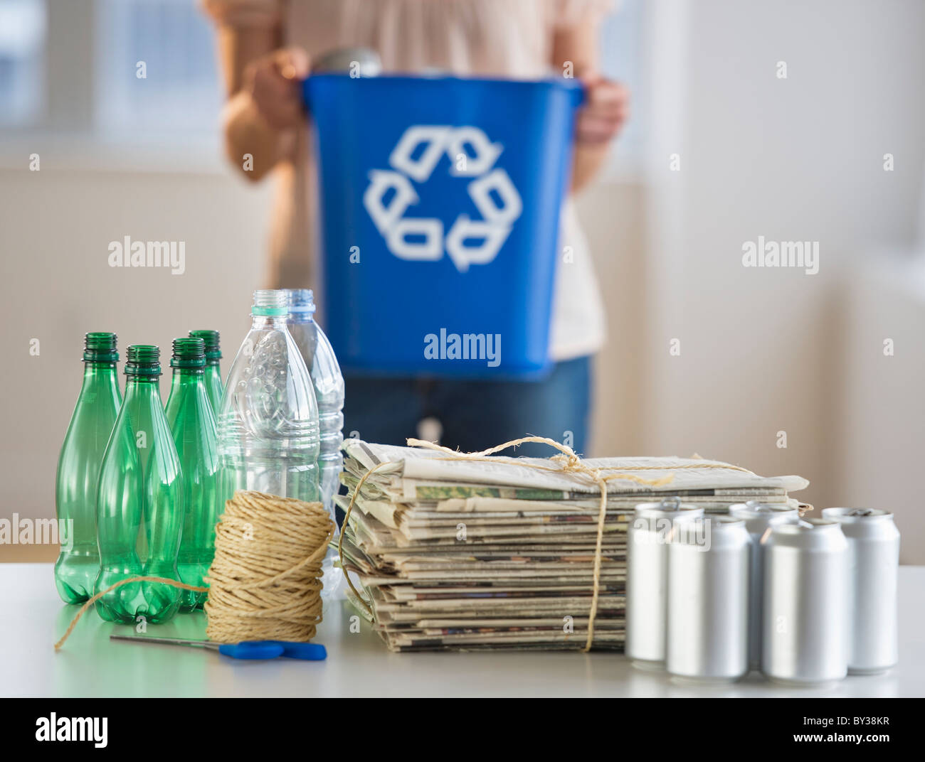 Cans And Bottles Recycling Bottle Designs