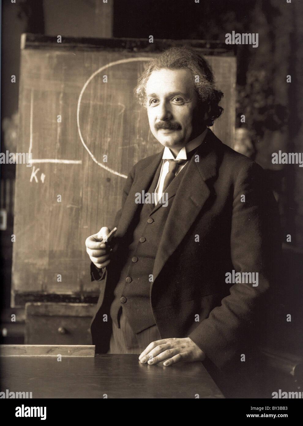 Albert Einstein, German theoretical physicist. - Stock Image