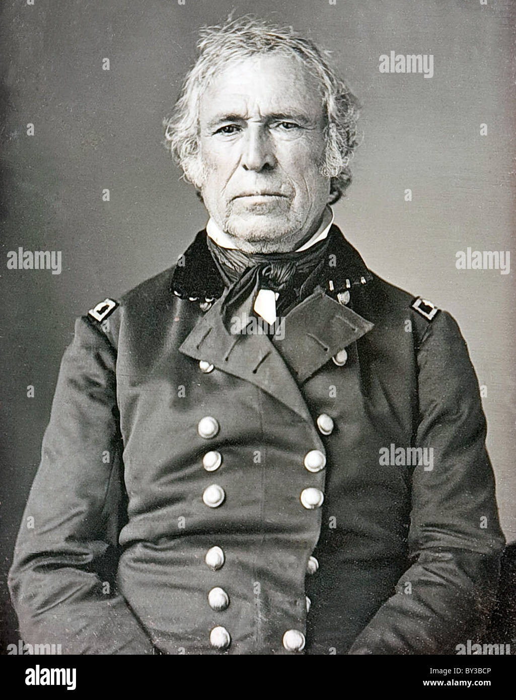 Zachary Taylor, President Zachary Taylor, the 12th President of the United States - Stock Image