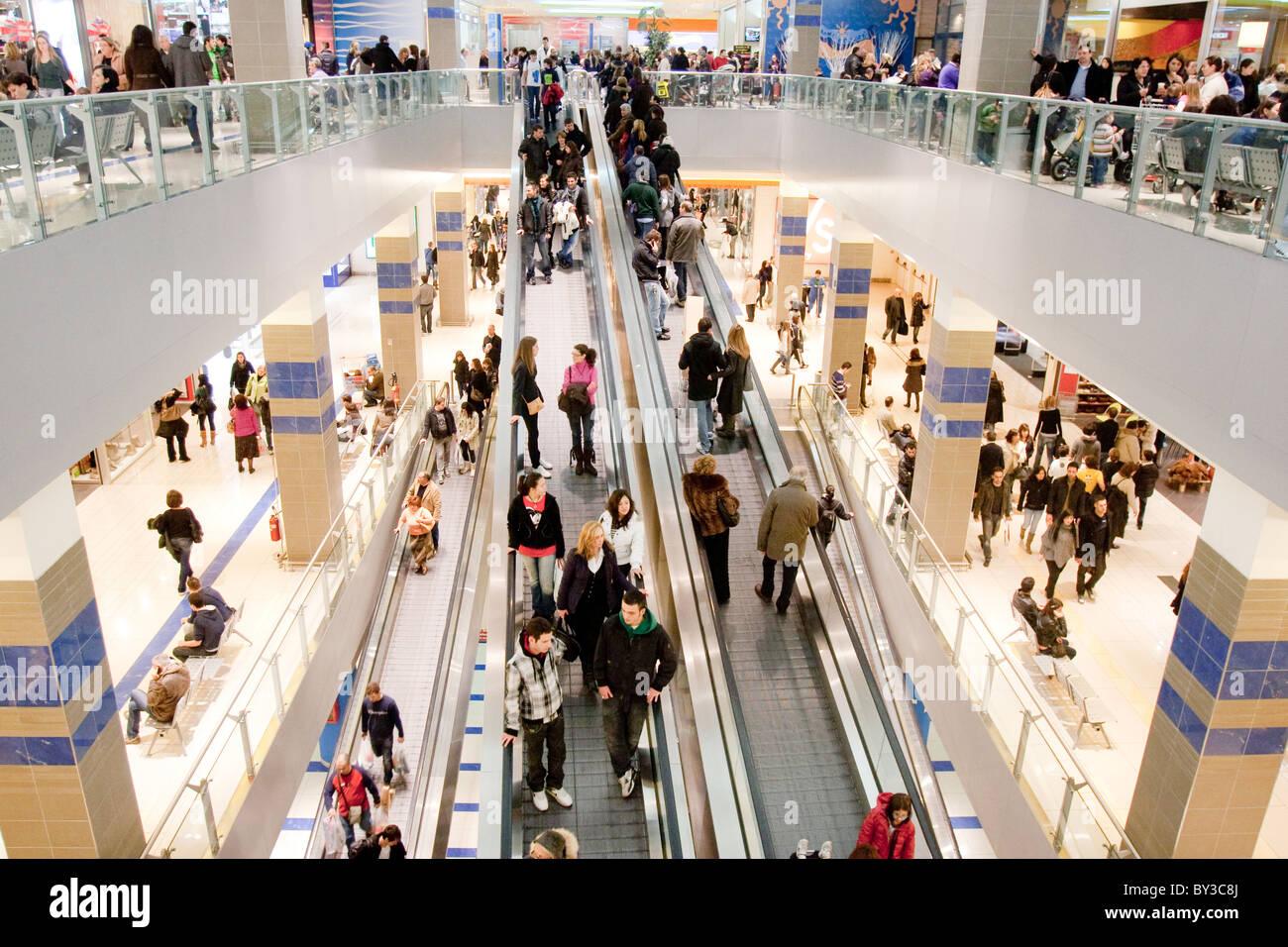 shopping center\