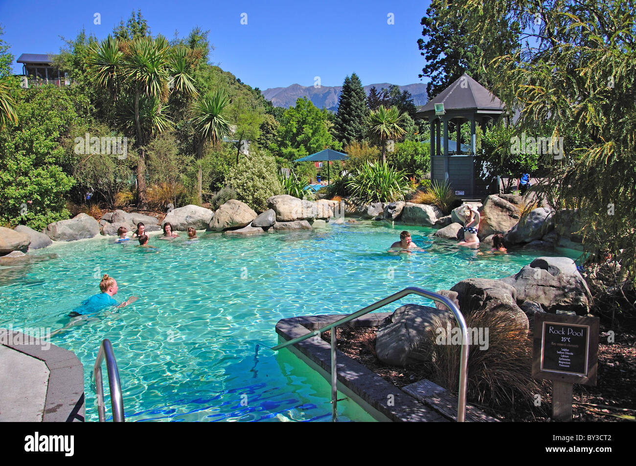 Hot Rock Pools At Hanmer Springs Thermal Pools Spa Hanmer Springs