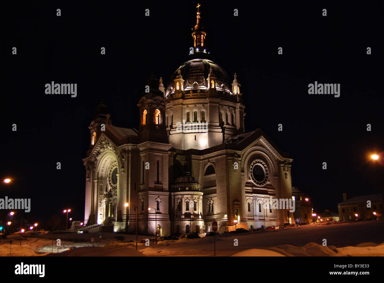 Saint Paul Cathedral - Stock Image