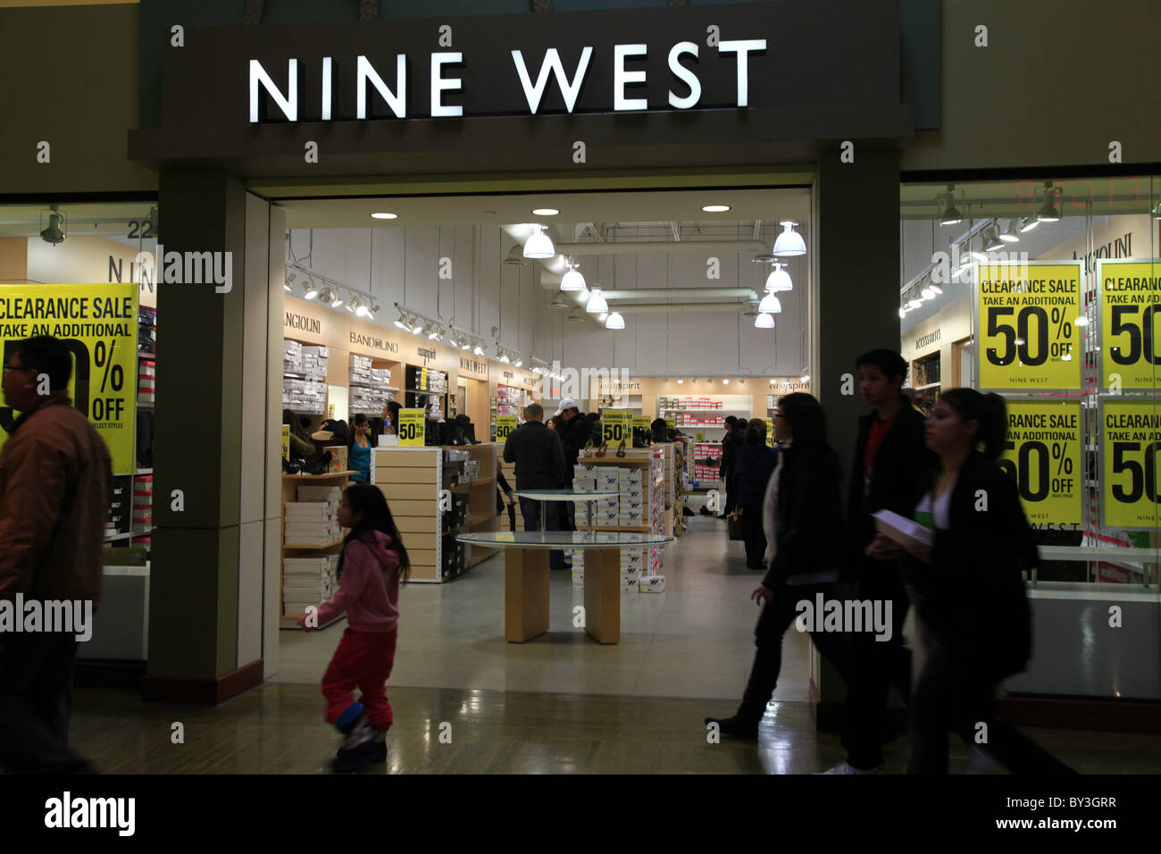 Toronto Outlet Mall Stock Photos & Toronto Outlet Mall Stock
