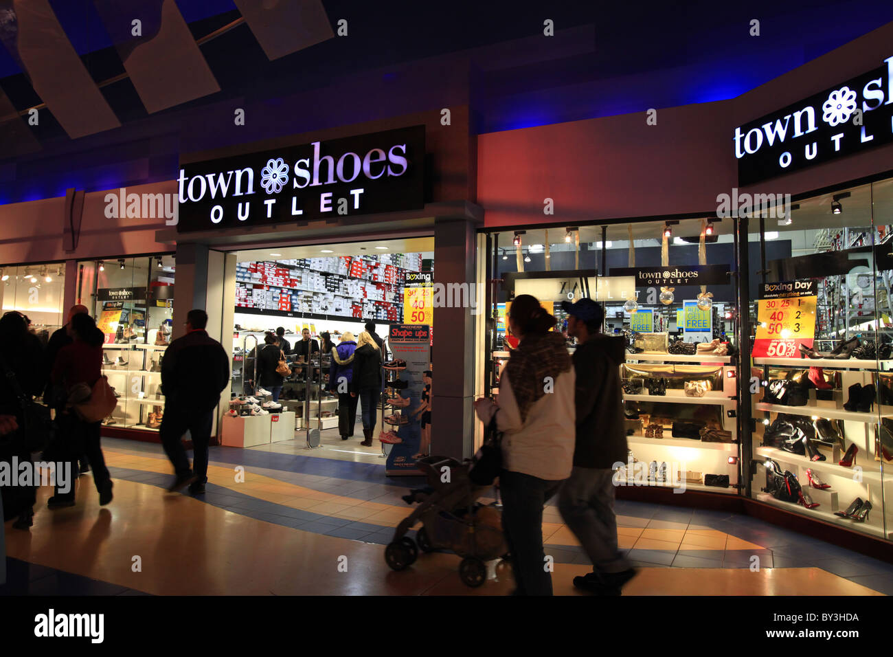 Town shoes outlet store in Vaughan Mills Mall in Toronto ab5876d804e
