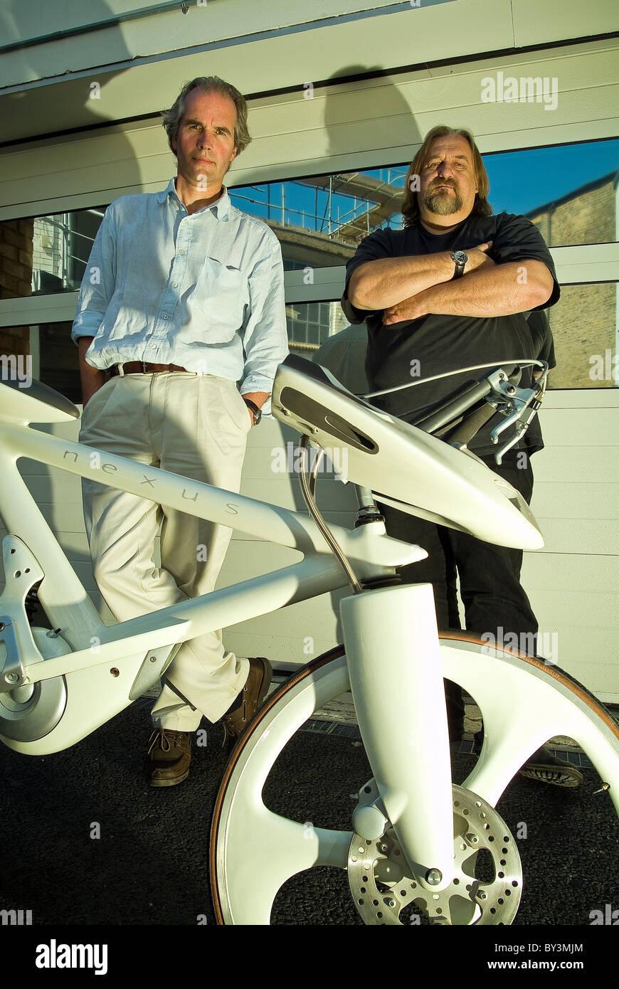 Dick Powell And Richard Seymour Of Seymour Powell Product Design Stock Photo Alamy