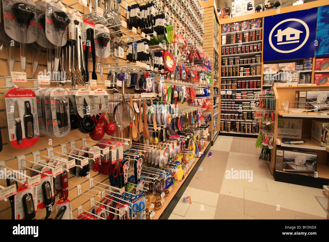 Home outfitters outlet store in Vaughan Mills Mall in Toronto, Canada 2010 - Stock Image