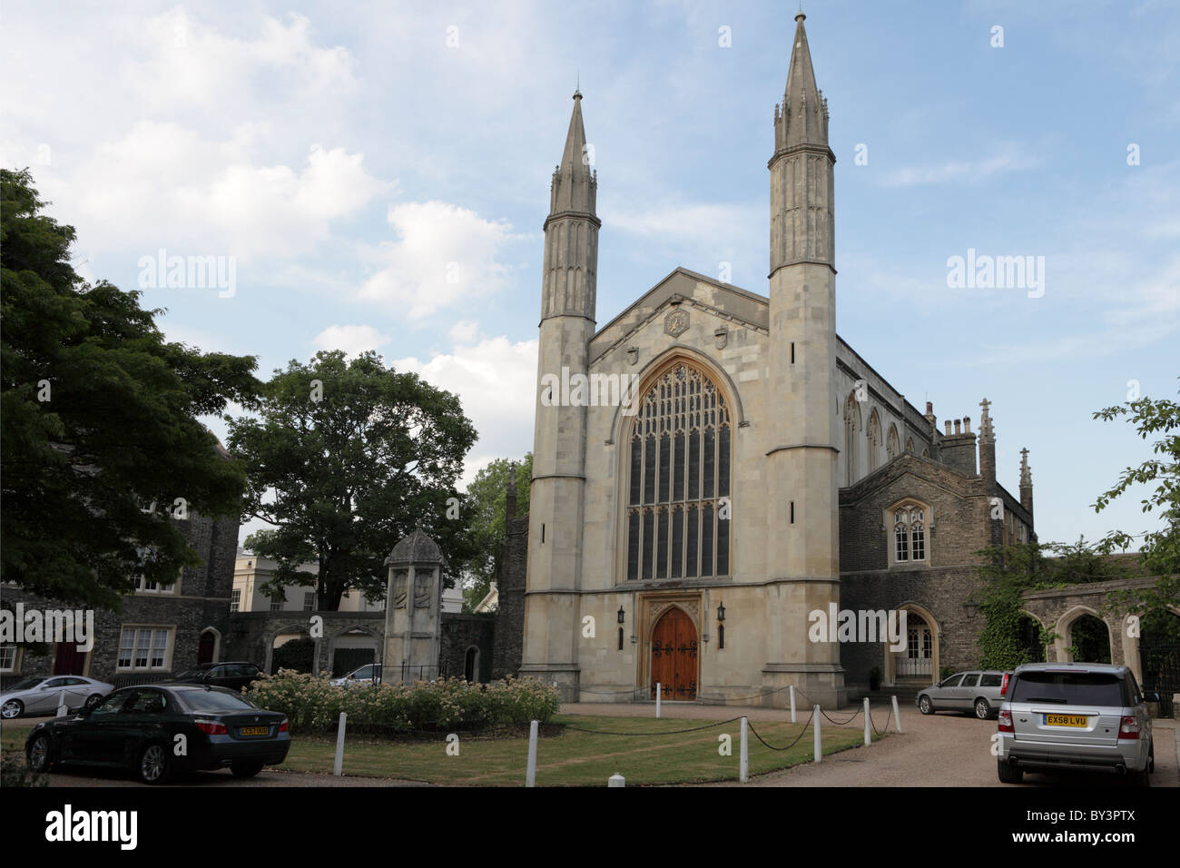 St Katharines Church in Outer Circle, Regents Park, London. - Stock Image