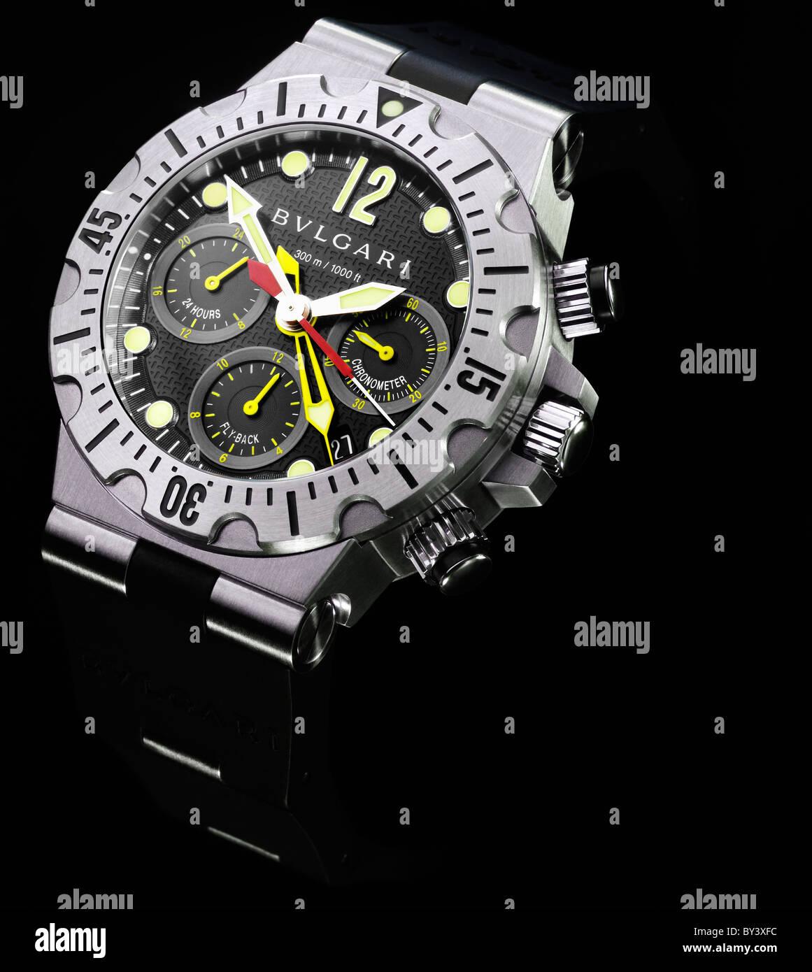 Designer Watch Stock Photos Images Alamy Fossil Bridgette Mini Stainless Steel Am 4352 Bulgari Bvlgari Wrist Image