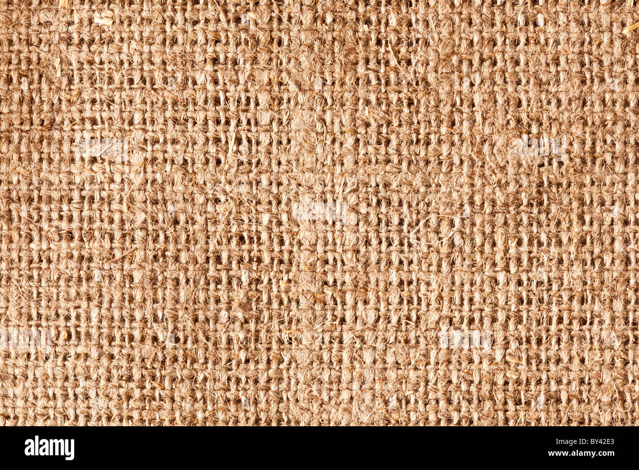 Image texture of burlap. - Stock Image