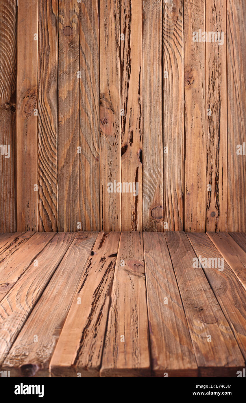Image texture of old wooden planks. Stock Photo