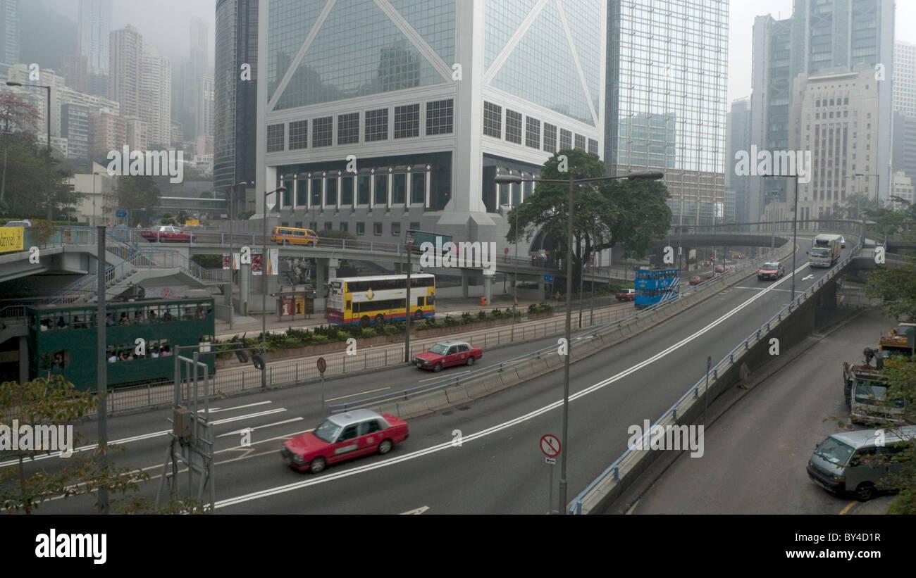 Hong Kong Skyscrapers - Stock Image
