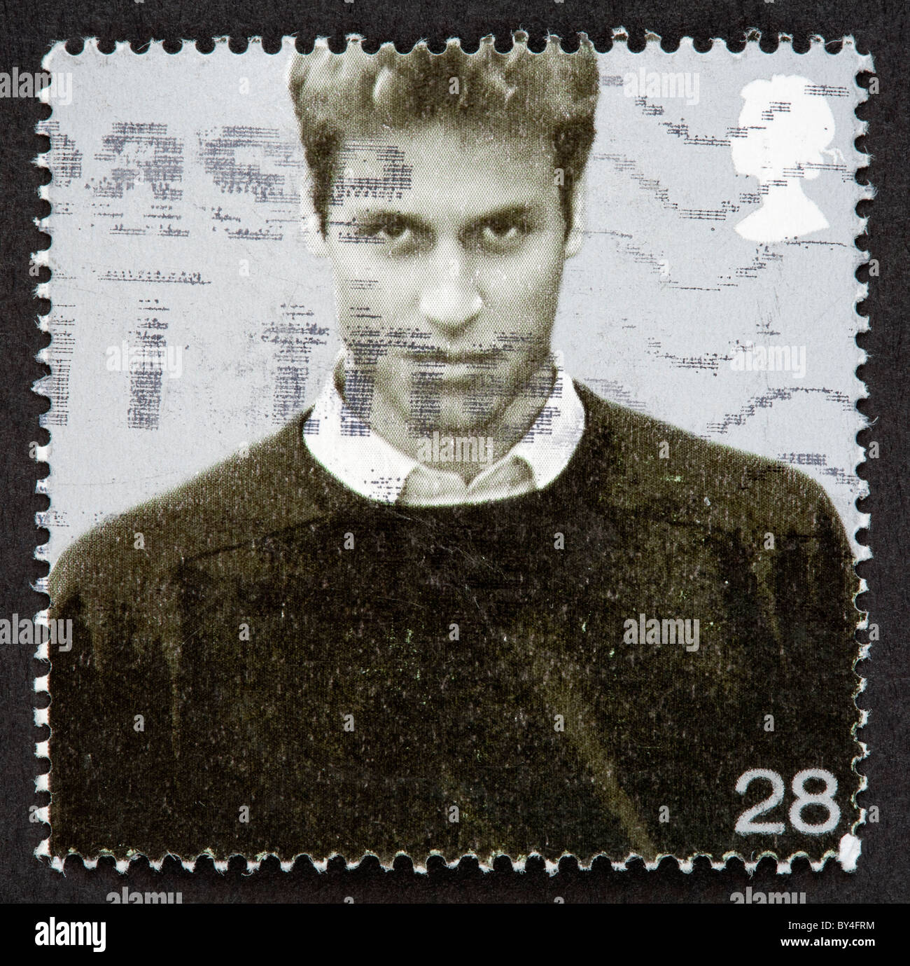 British postage stamp - Stock Image
