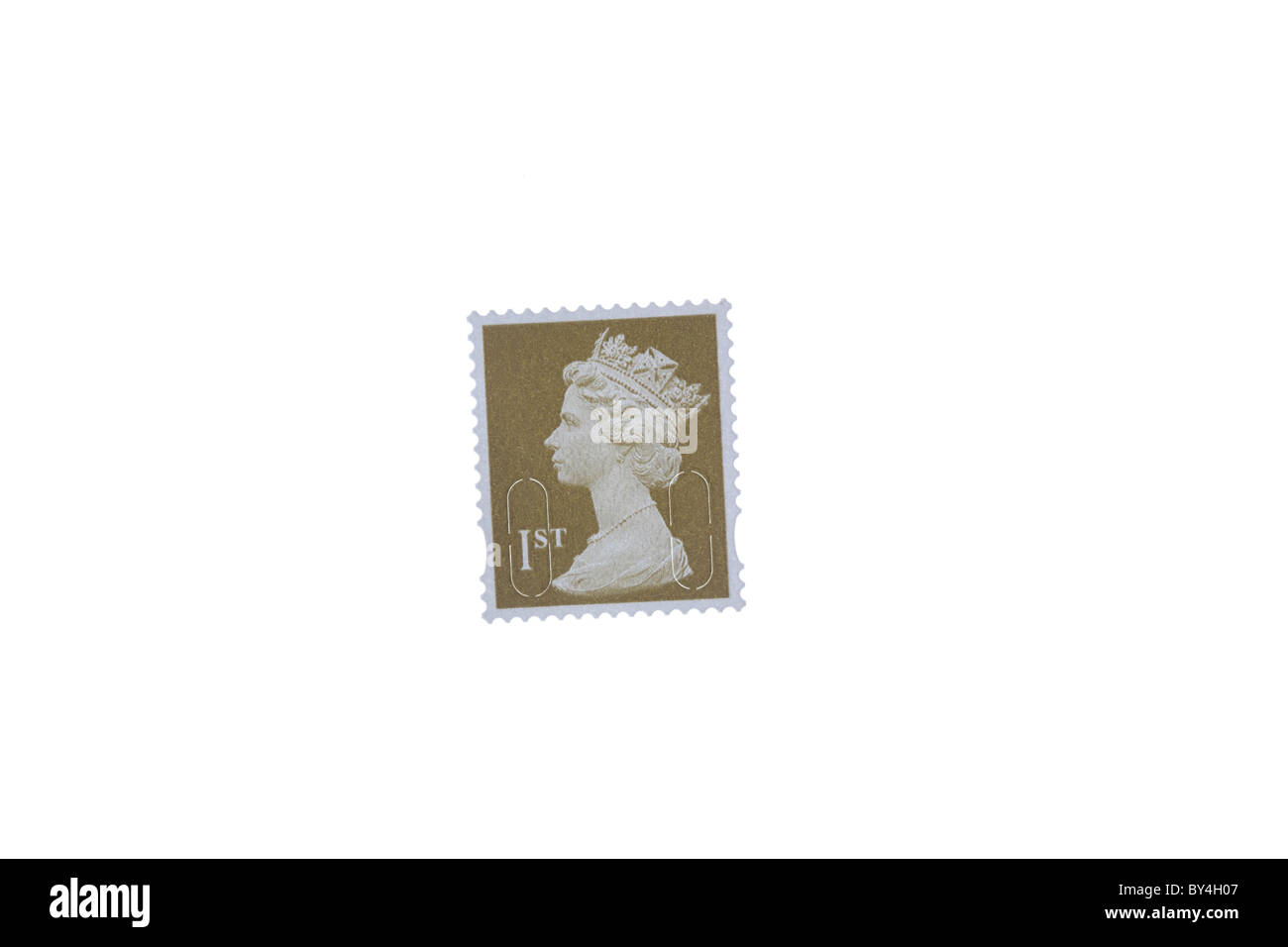 1st Class postage stamp - Stock Image