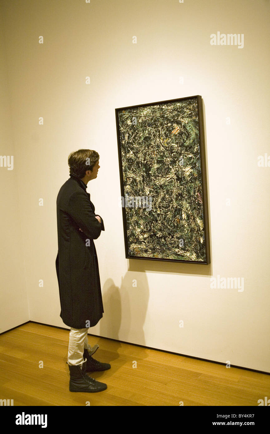 Before Selling Jackson Pollock Painting Ny Art Gallery