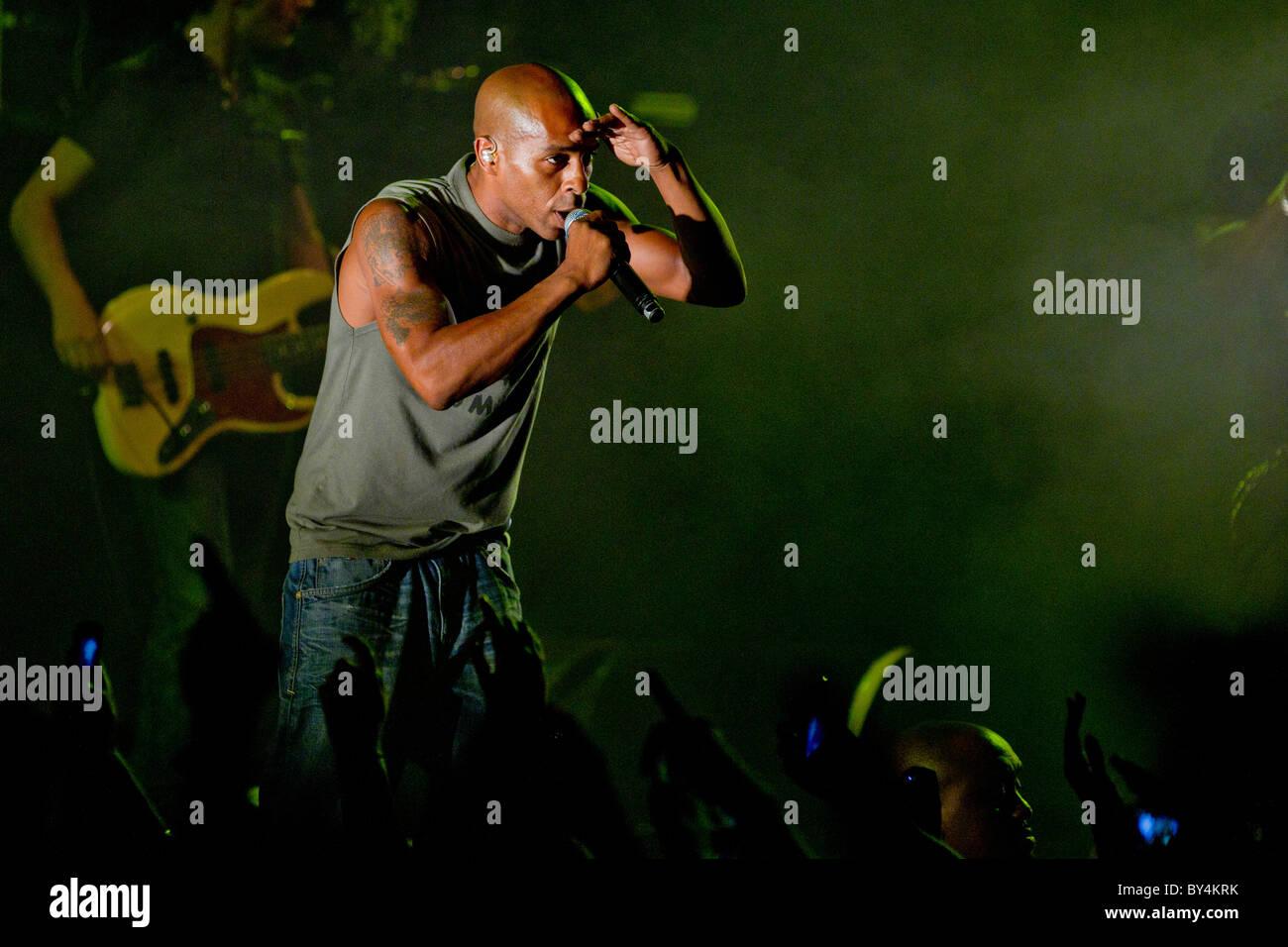 French hip hop band IAM Stock Photo