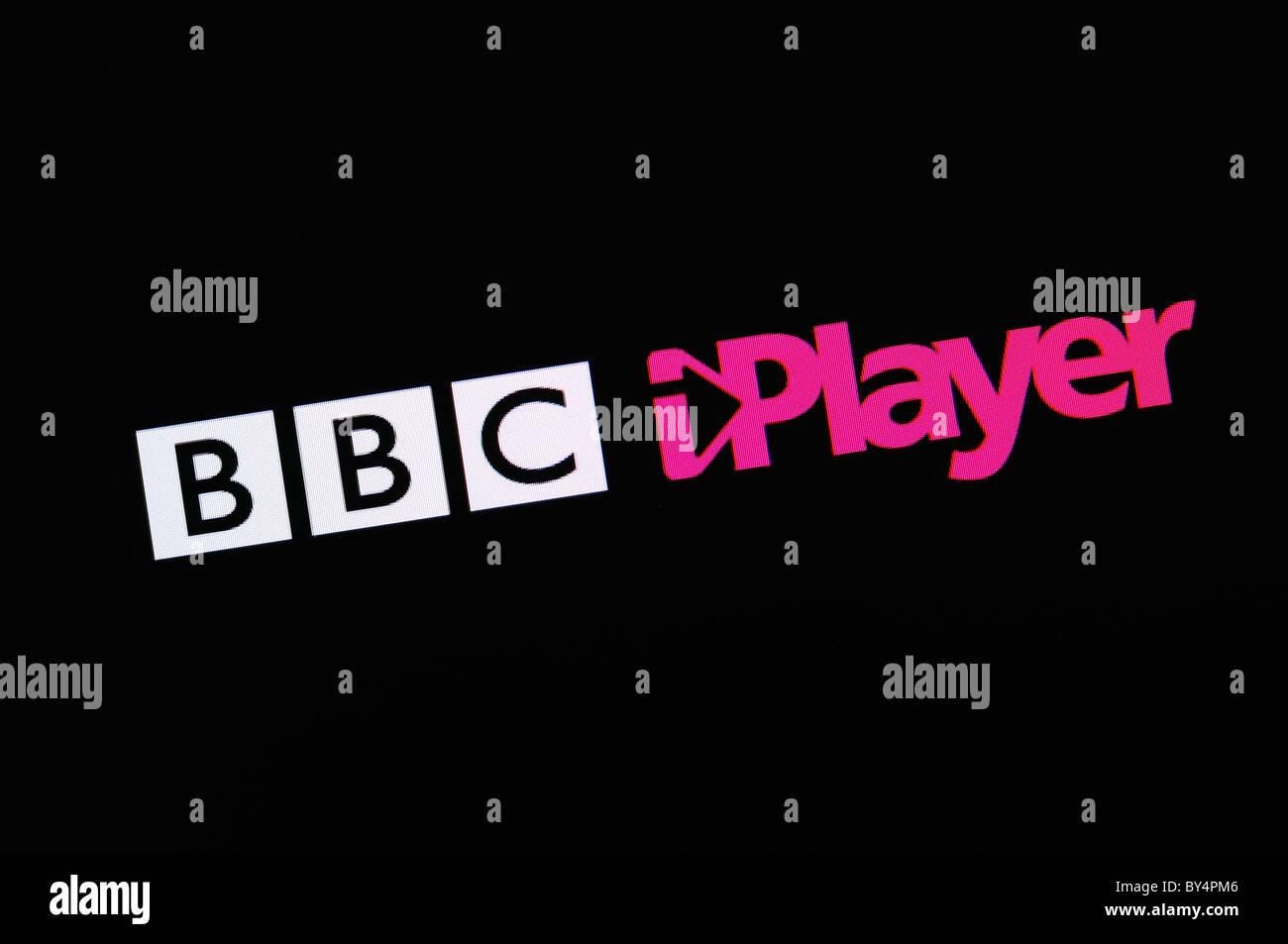 BBC iPlayer Screenshot - Stock Image