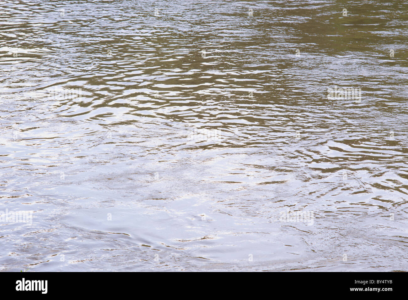 Water - River Severn at Ironbridge Gorge - Stock Image
