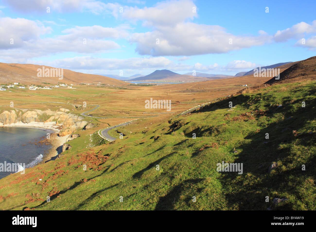 Ashleam, Achill Island, County Mayo, Ireland - Stock Image