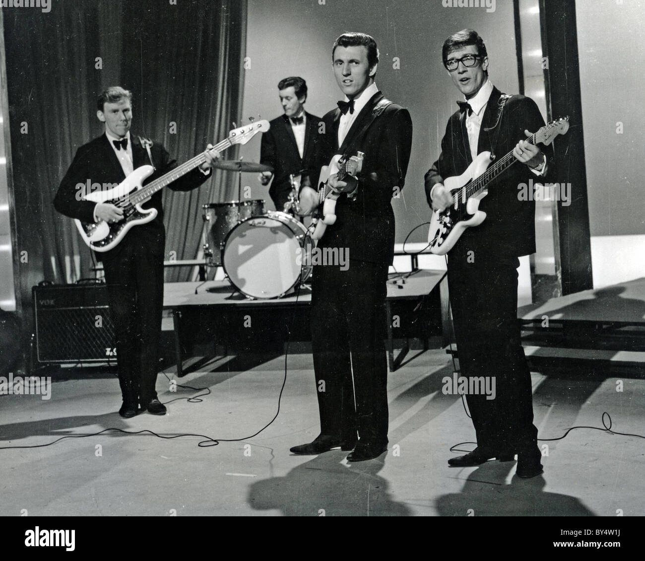 Bruce Welch: THE SHADOWS UK Pop Group In 1963 With From L: Brian