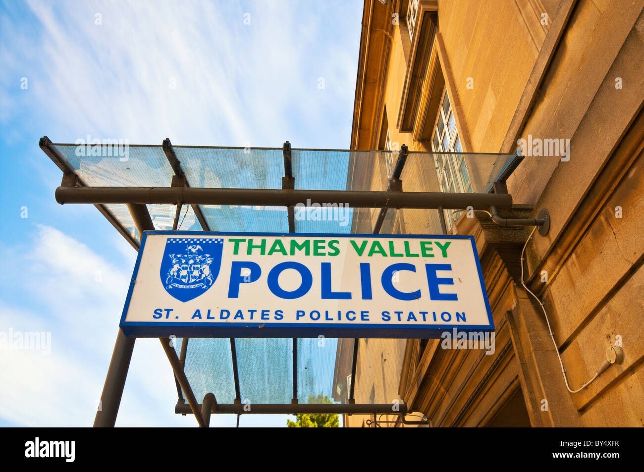 Police Station in Oxford, Thames Valley Police - Stock Image