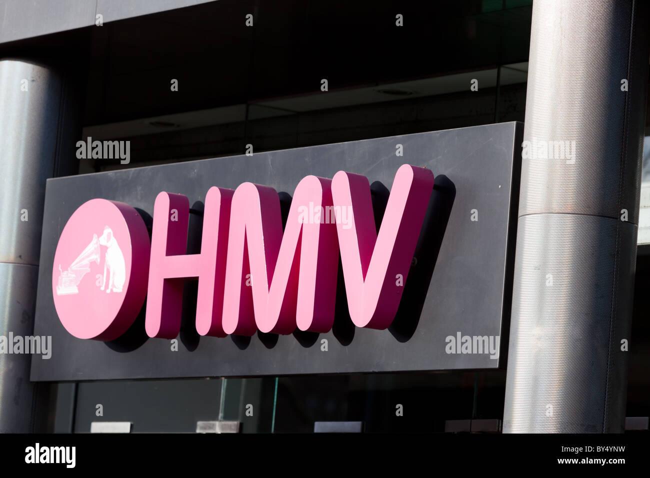 Hmv Logo Stock Photos Hmv Logo Stock Images Alamy