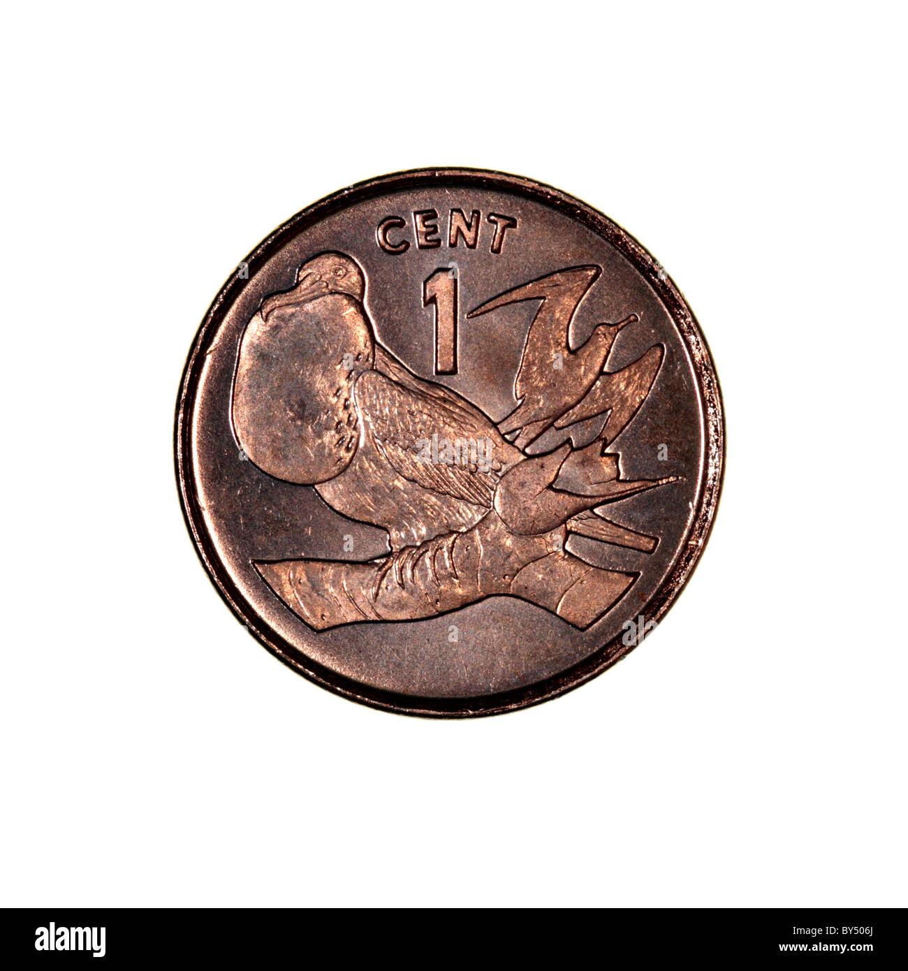 Kiribati coin - Stock Image