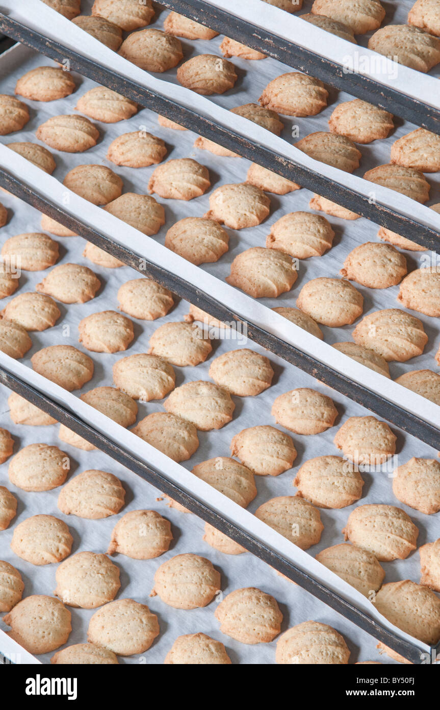 manufactures cookies and crackers - Stock Image
